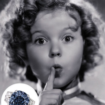 Shirley Temple's rare fancy deep blue diamond ring to be auctioned by Sotheby's