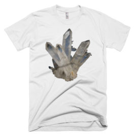 Gem T-Shirt – Quartz (Mens/Unisex)