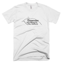 Designer T-Shirt: Ocean View Mine (Mens/Unisex)