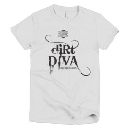 Designer T-Shirt: Dirt Diva (Womens)
