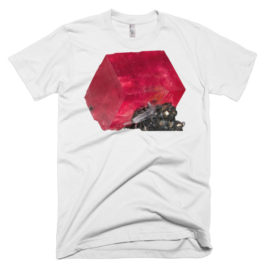 Gem T-Shirt – Rhodochrosite (Mens/Unisex)