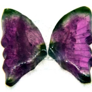 Tourmaline Hand Carved Butterfly 3.10ct (13x14mm) Nigerian
