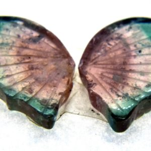 Tourmaline Hand Carved Butterfly 7.05ct (17x18mm) Namibian