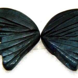 Tourmaline Hand Carved Butterfly 7.80ct  (19x22mm) Congo River