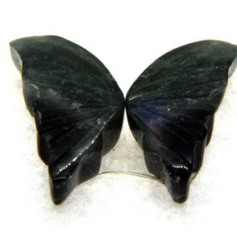 Tourmaline Hand Carved Butterfly 6.05ct (15x15mm) Congo River